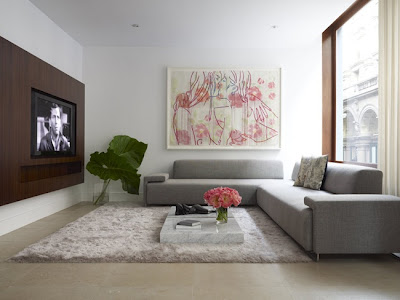 Chic Home Idea: Modern and elegant living room