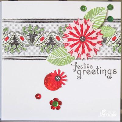 Festive Greetings - Photo by Deborah Frings - Deborah's Gems