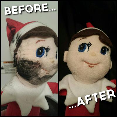 elf on the shelf clean dirty