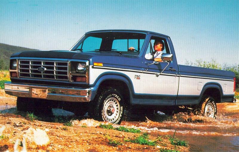 Transpress Nz  1985 Ford F150 Pickup