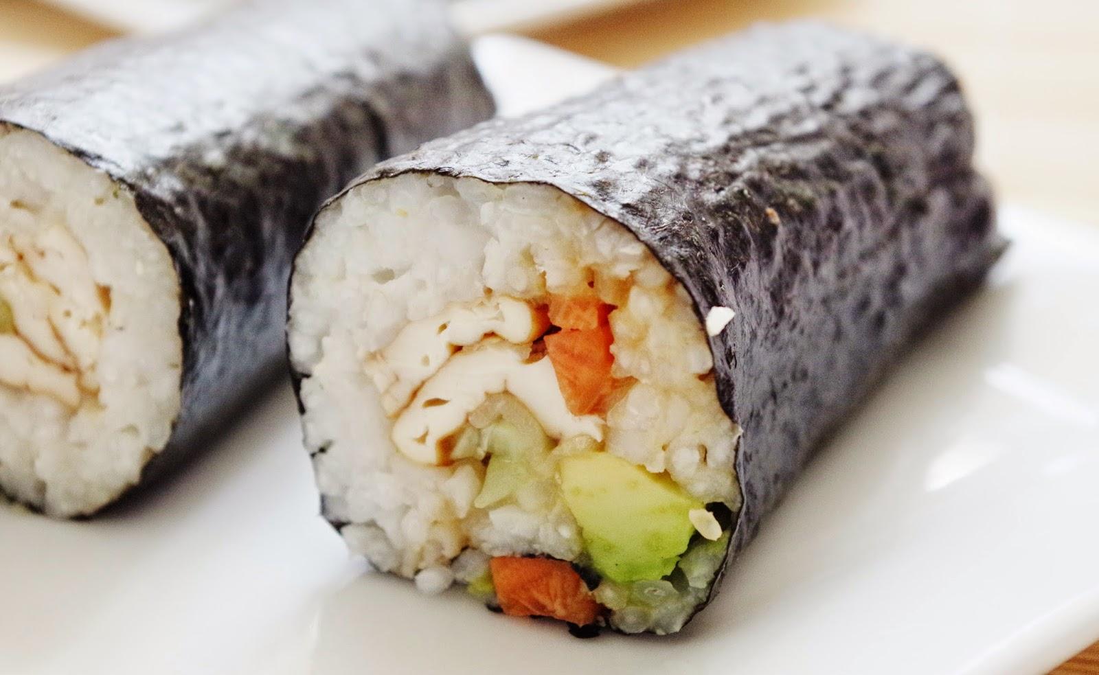 Sushi Rolls |Euphoric Vegan