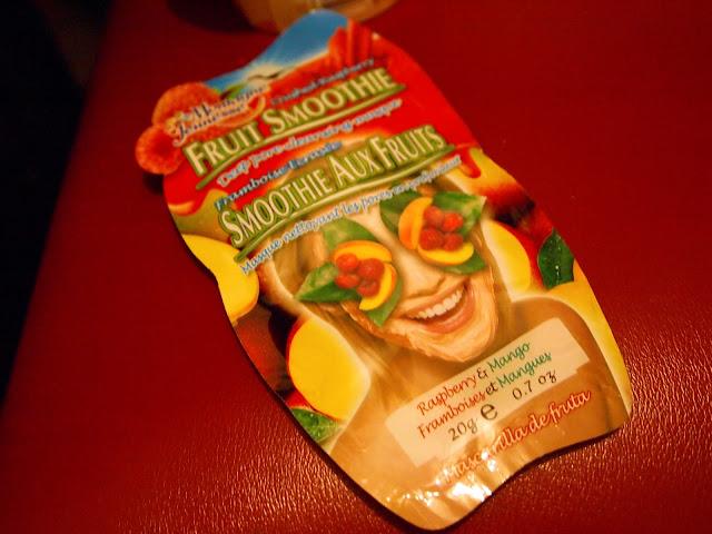 Fruit Smoothie Face Mask
