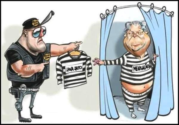 Trocando o uniforme