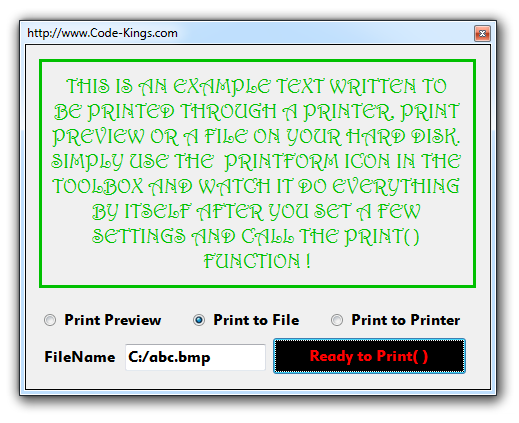 We Only Wish To Print The Written Text Above In Green Color There Is VS 2012 Source Code At Very End See And Explanations Below