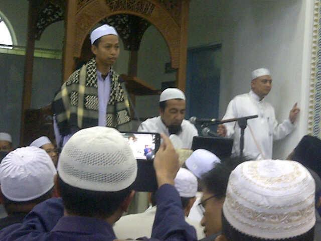 Kuliah Ustaz Azhar Idrus di KL Masjid Al-Mardhiyah Taman Melawati