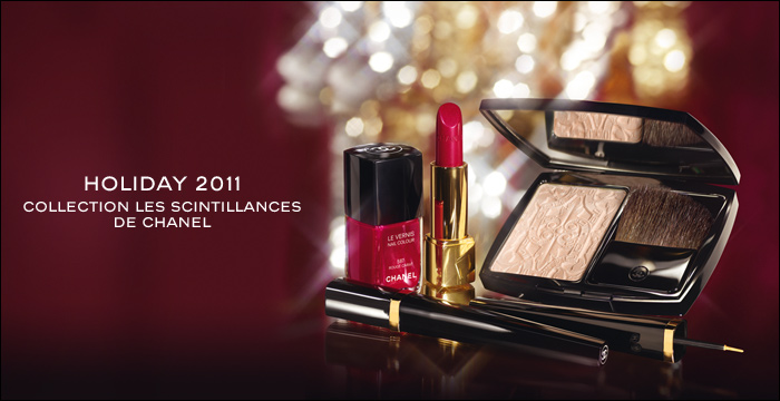 chanel les scintillantes holiday 2011 collection swatches lipsticks famous enviree eyeliner or eyeshadow blazing gold lame beige lipgloss triomphal insouciance rouge allure extrait laque dragon empire sweet sparkle dor swatches noir ivoire