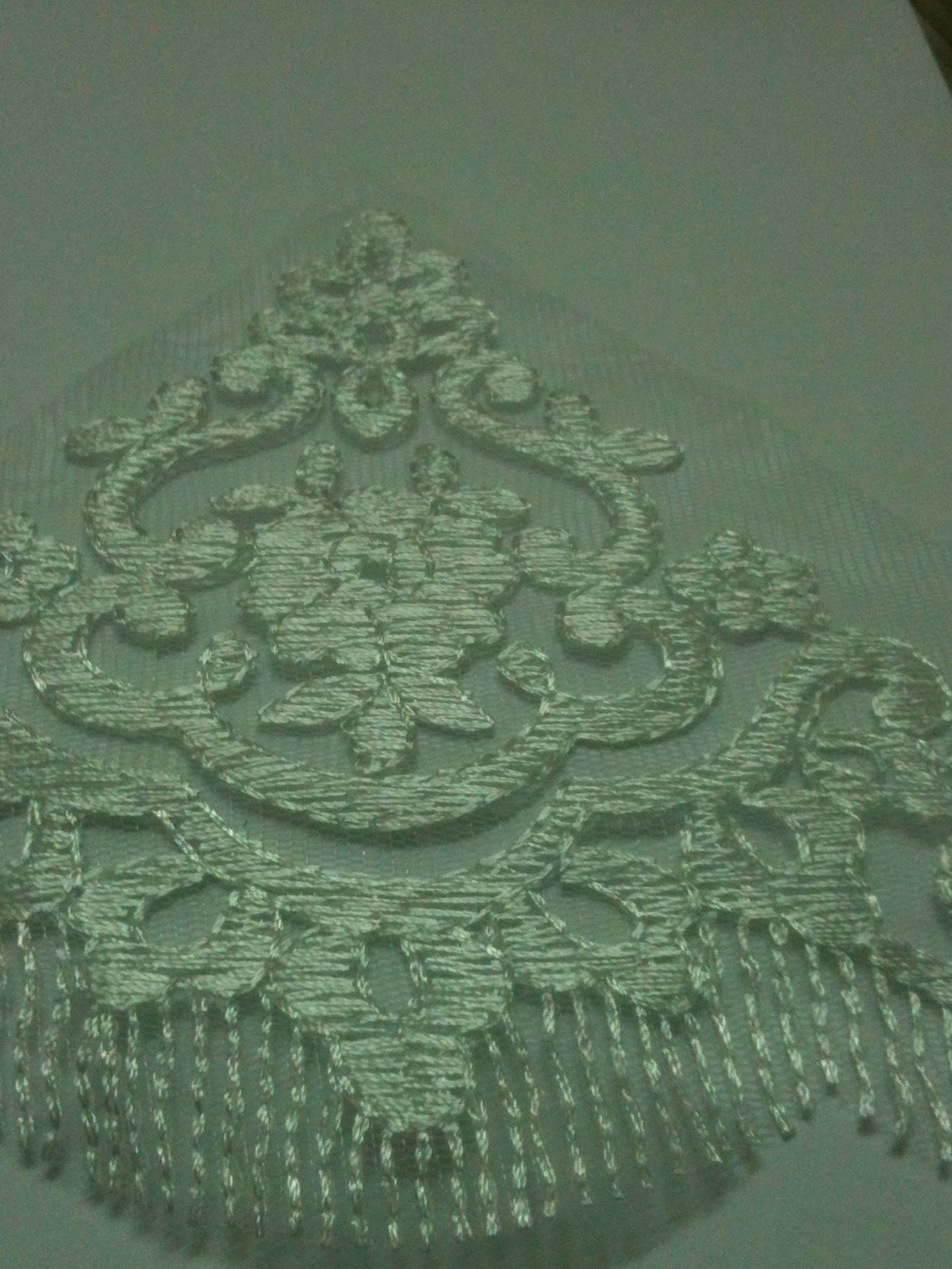 Your DIY Project Supplies: BORDER LACE : WHITE / putih