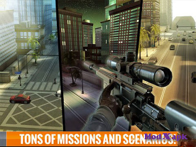 Sniper 3D Assassin: Free Games v1.2 MOD APK +OBB (Unlimited Money)