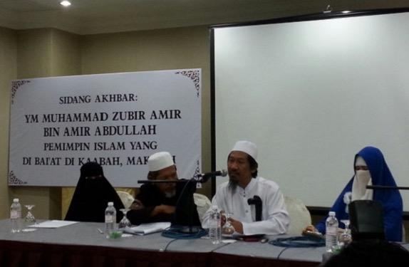 Lelaki mengaku Imam Mahdi buat sidang media di Kuala Lumpur