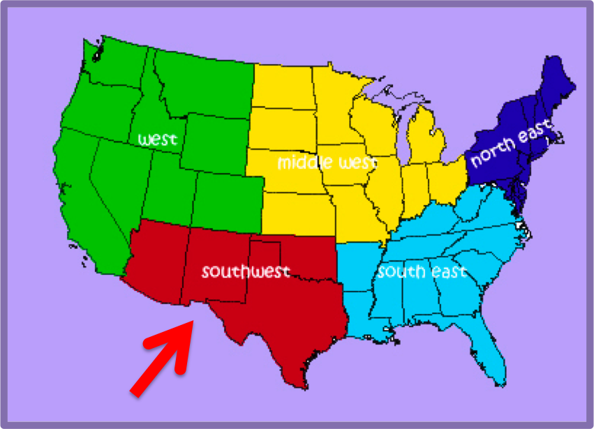 What is considered the south in the United States?   Yahoo ...