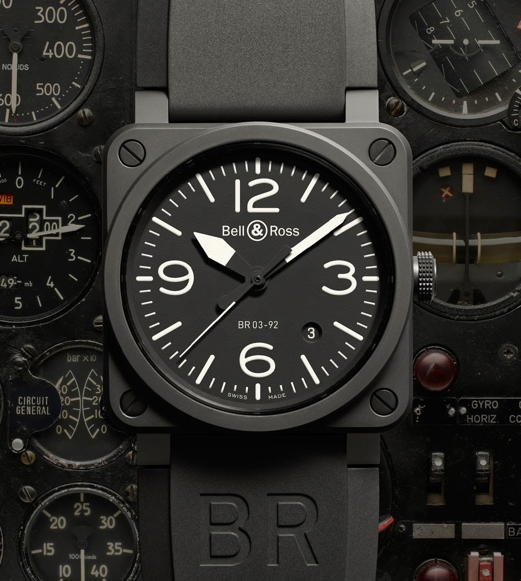 Perpetual Calendar Watch >> Bell & Ross - BR 03-92 Ceramic | Time and Watches