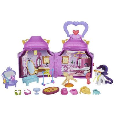 TOYS : JUGUETES - MY LITTLE PONY : Cutie Mark Magic  La boutique mágica de Rarity | Rarity Booktique  Casa - Libro - Maletin  Producto Oficial 2015 | Hasbro B1372 | A partir de 3 años  Comprar en Amazon España & Buy Amazon USA