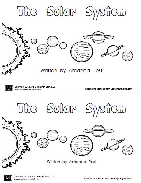 Dibujos de el sistema solar para colorear - Imagui