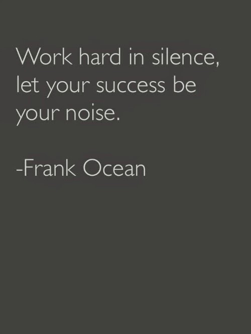 frank ocean - success quote