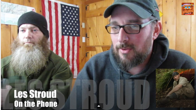 Les Stroud Bigfoot interview