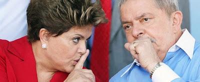 Dilma Rousseff e Luis Inácio Lula da Silva - Um Asno