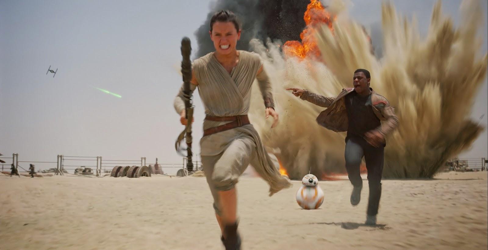 Veja imagens inéditas e artes promocionais de Star Wars: O Despertar da Força