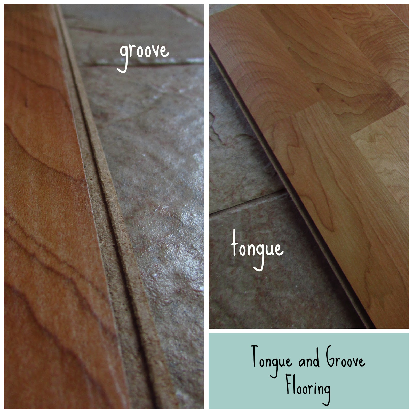 Most Laminate Wood Floorboards (and Regular Wooden Floorboards Too) Have What  Is Known As U201ctongue And Grooveu201djoints That Lock Together To Keep The  Flooring ...
