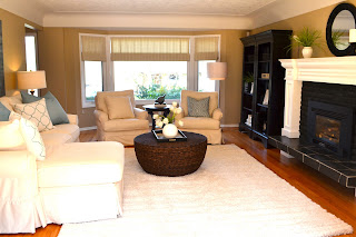 Remarkable ReDesign Living room makeover after