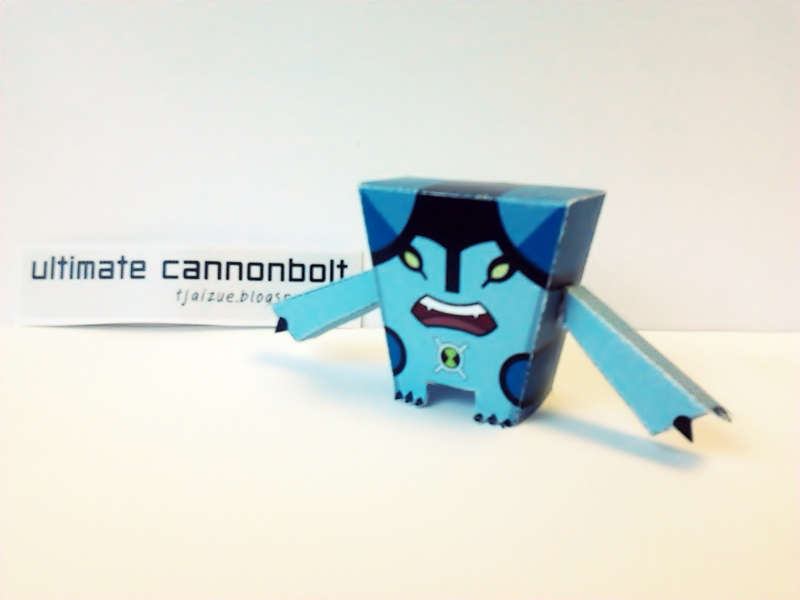 Ultimate Cannonbolt Papercraft