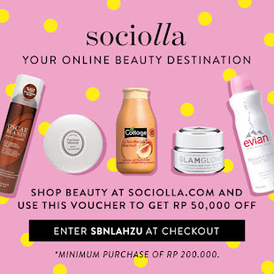 Get IDR 50.000 Off on sociolla.com