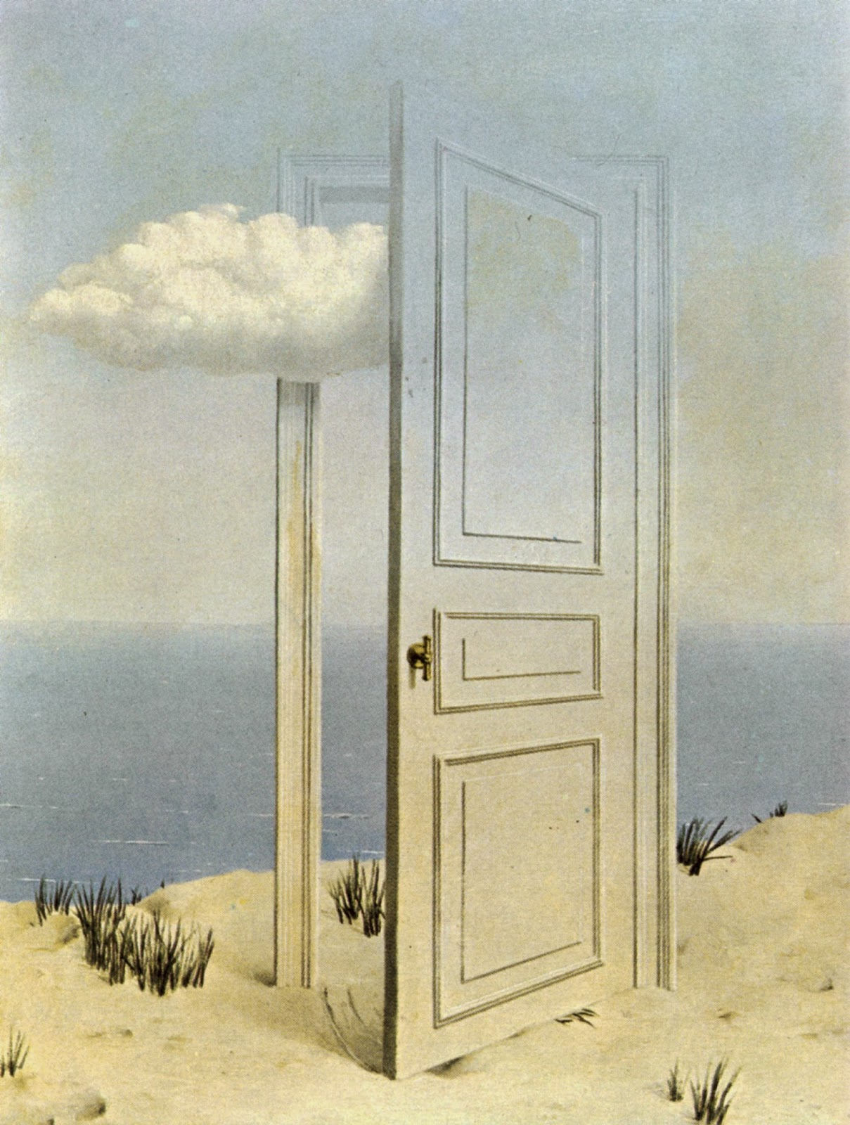 Kart voir n 057 la r ponse impr vue 1933 ren magritte - Reparer un trou dans une porte ...