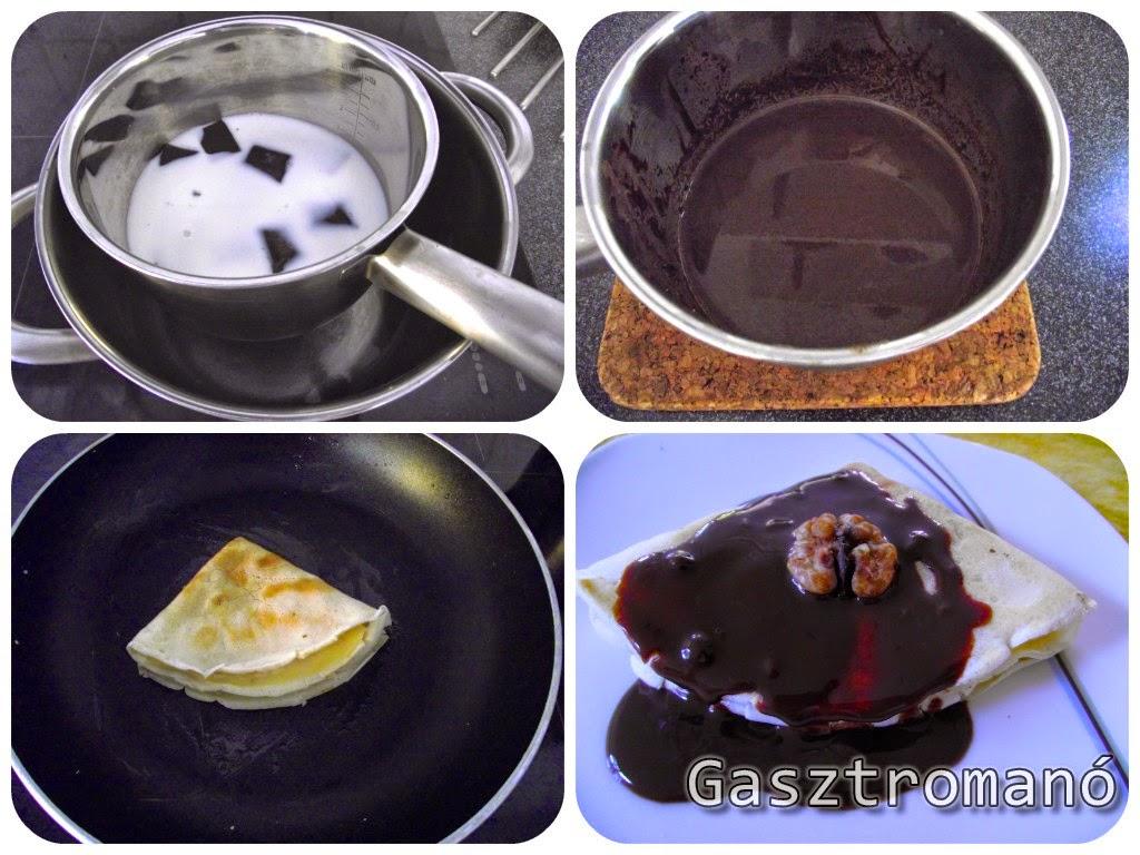 gundel palacsinta recept lépésről lépésre