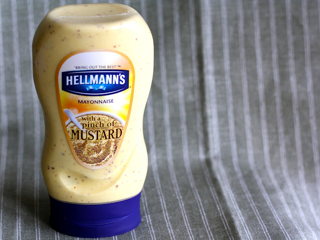 hellmann's mayonnaise with a pinch of mustard