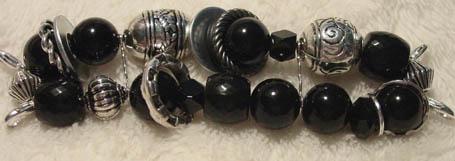 Black & Silver Rings