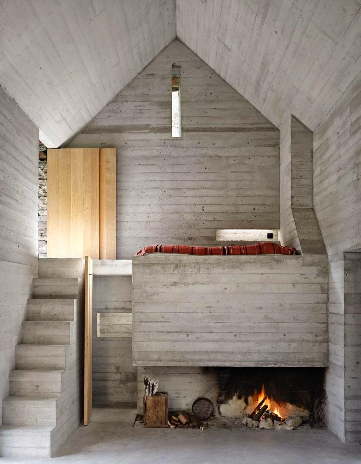 Simplicity love summer house in linescio switzerland for Architecture suisse