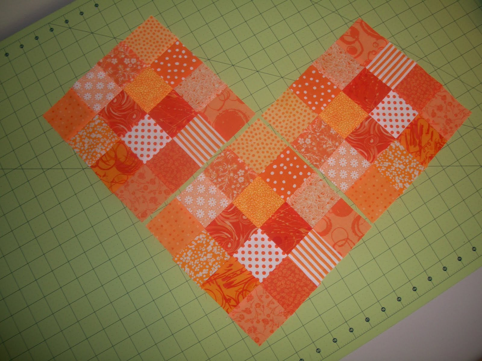 how to make a 16 patch block