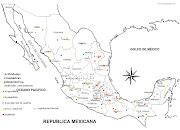 Mapa de las actividades económicas en México (mapa ch)