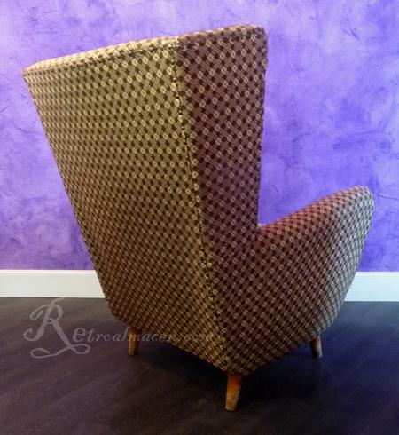 en venta silln o butaca excepcional diseo mueble retro vintage original aos o principios de los