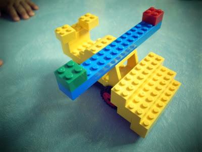 レゴ ブルドーザー飛行機