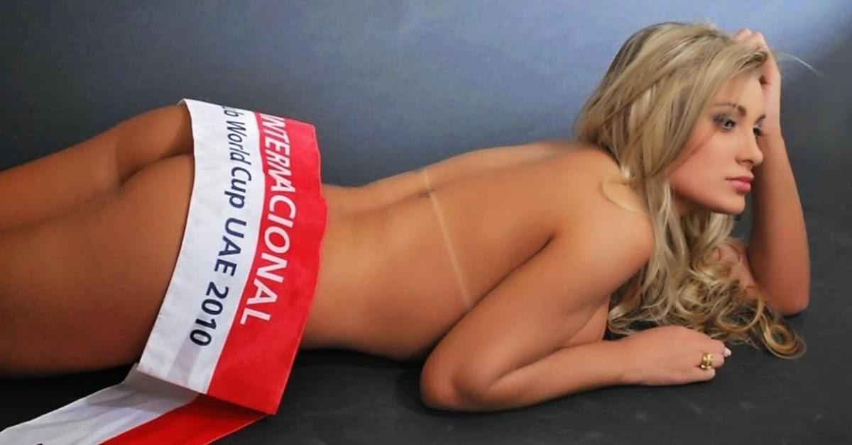 Andressa Urach, A Bela Musa do Sport Club Internacional
