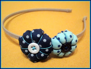 Diadema Azul - Gris ChikiPol