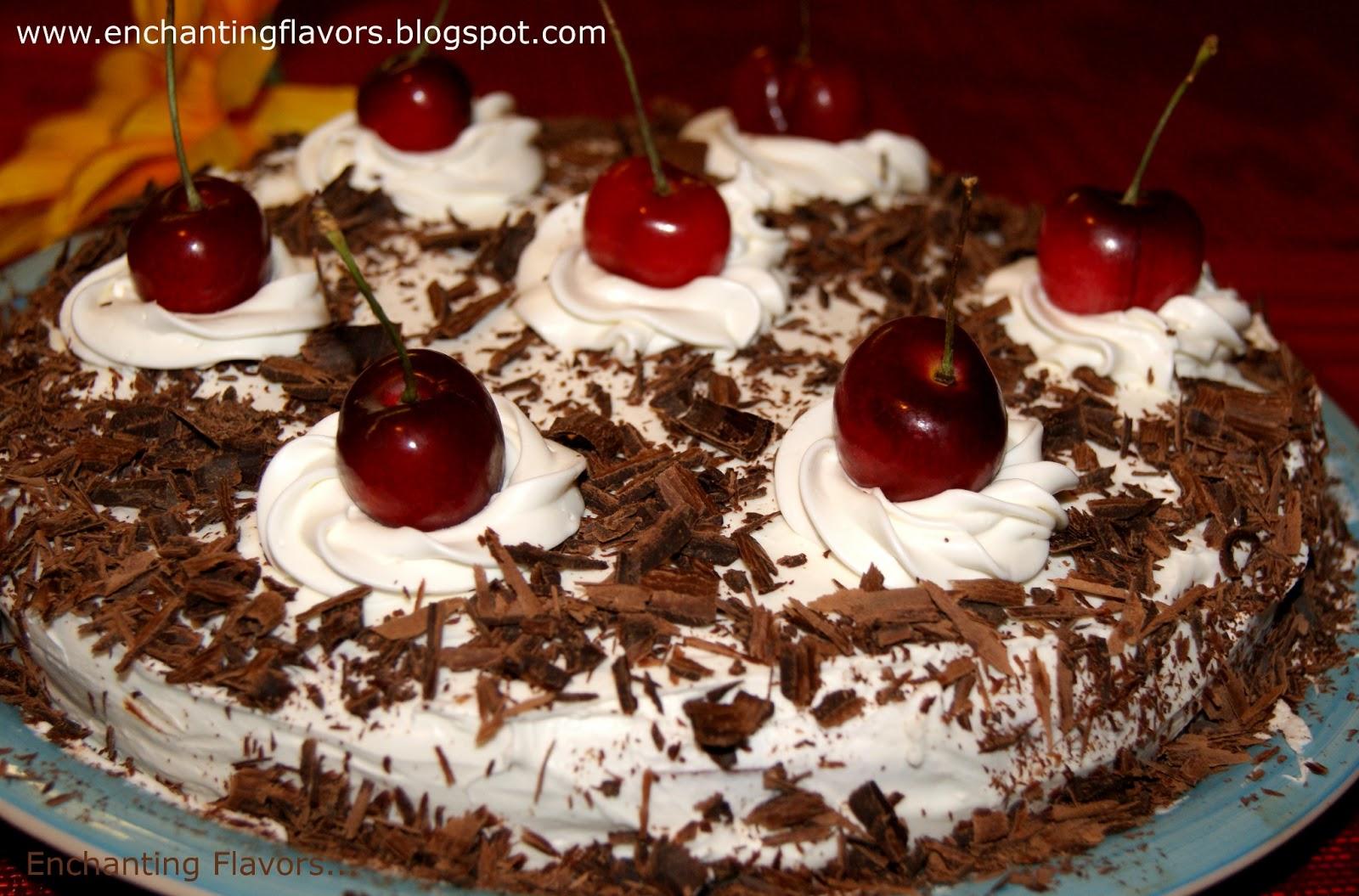 Enchanting Flavors Black Forest Cake