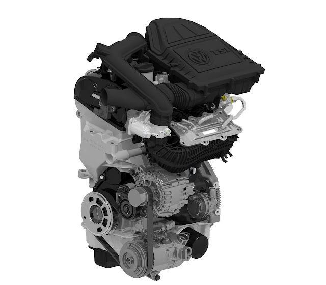 Volkswagen up! Turbo - TSI - motor