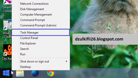 8 Cara Membuka Task Manager di Windows 8.1