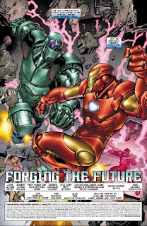 Page 1 of AWS Presents Iron Man Special #1: Forging The Future