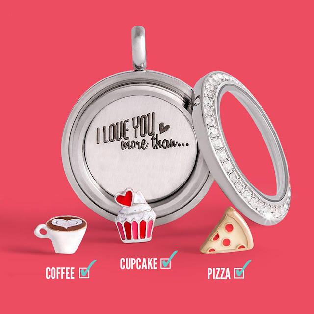 I love you more than...Origami Owl Locket Plate from StoriedCharms.origamiowl.com