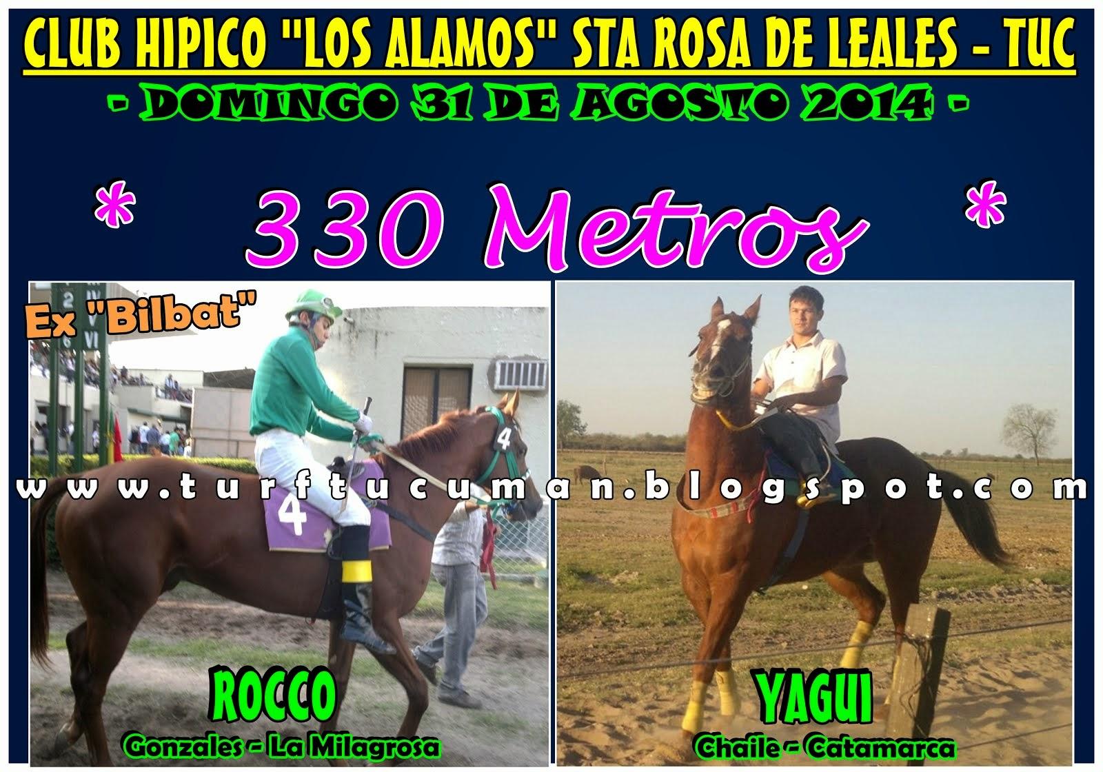 ROCCO VS YAGUI