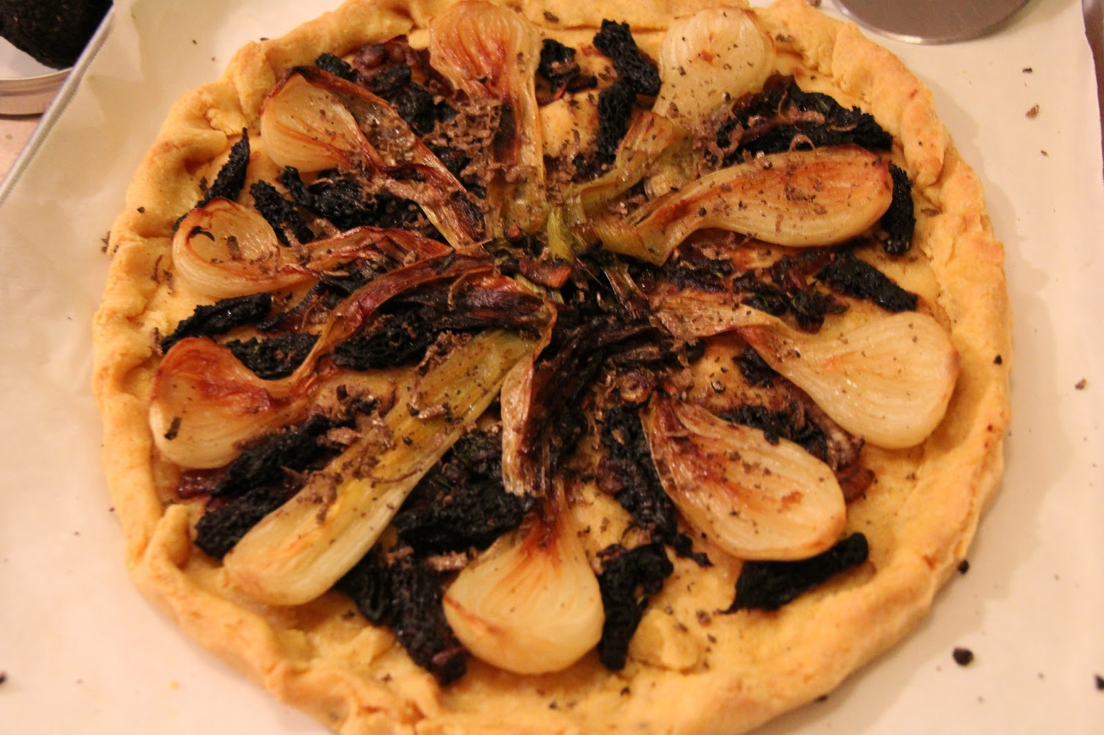Rustic Onion Tart Recipes — Dishmaps