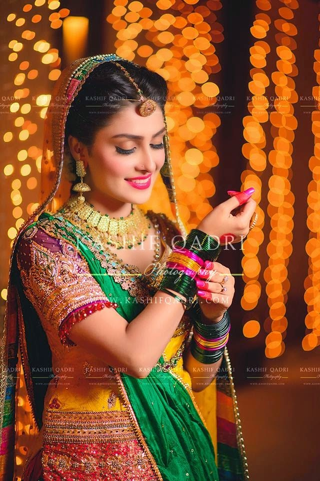 Ayeza khan Mehandi Photo Shoot pictures