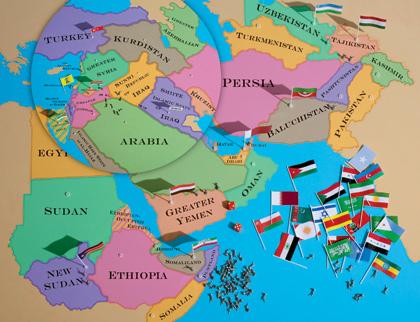 Ο χάρτης της εφημερίδας the atlantic ιαν