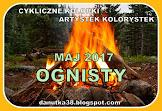 W maju: ogniście