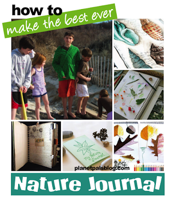 Nature Journals can be a great learning experience all year long - Learn how to make one!
