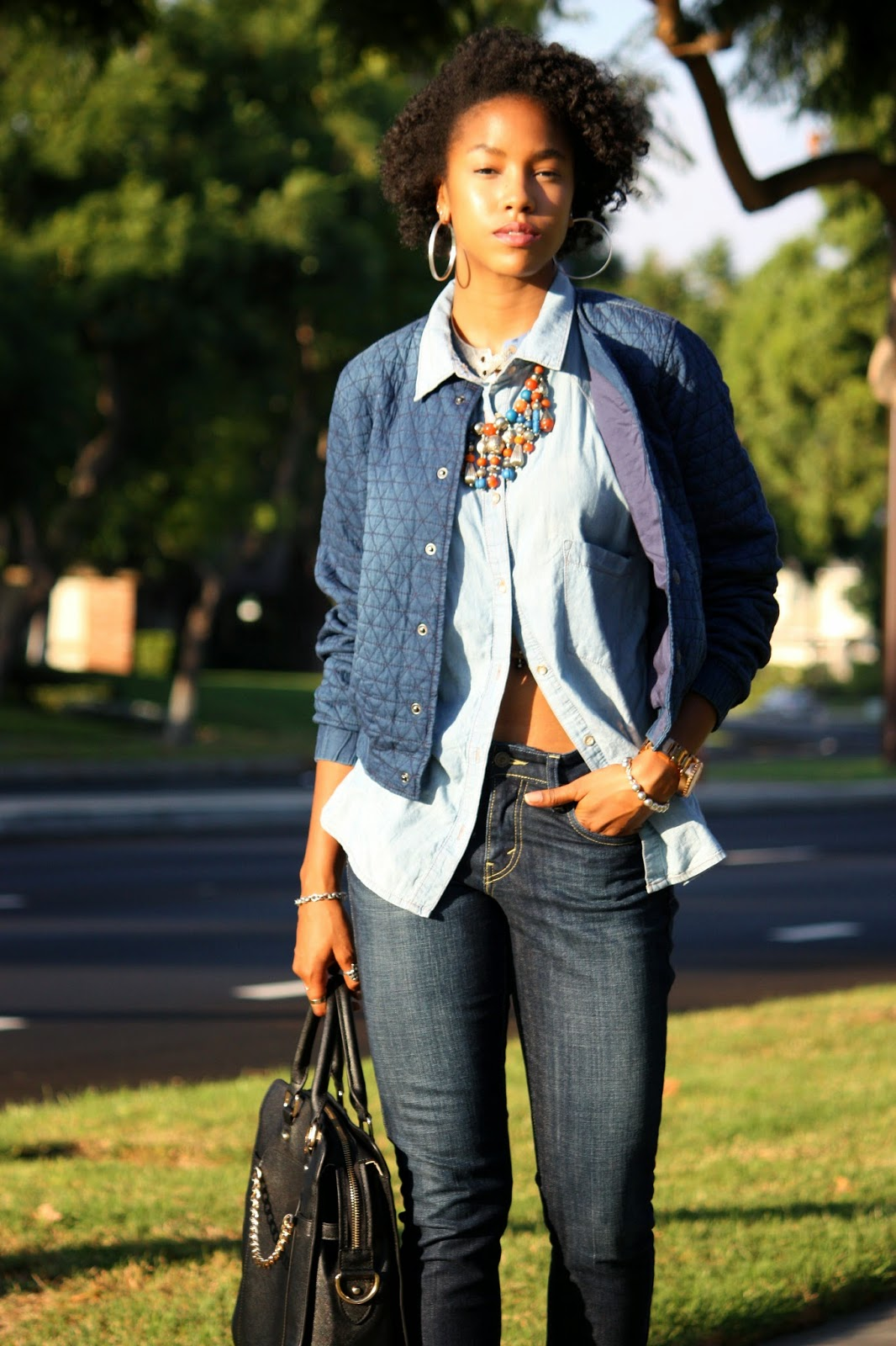 Fashion and personal style blogger Marquise C Brown