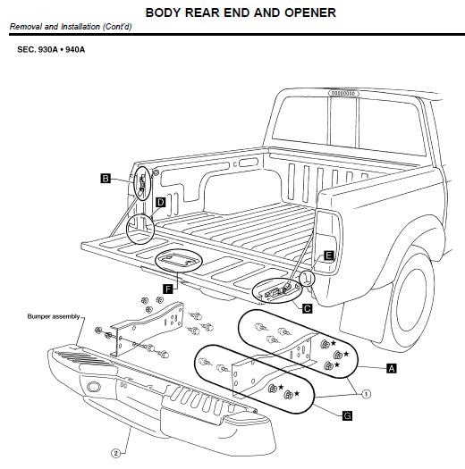 nissan xterra exhaust diagram