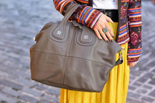 Givenchy Nightingale grey, Chanel Mysterious nail polish, Fashion and Cookies, fashion blogger